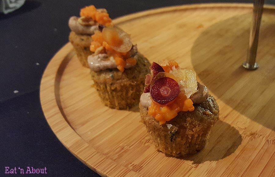 EAT! Harvest - Chicken Liver Mousse on a Savoury Cake