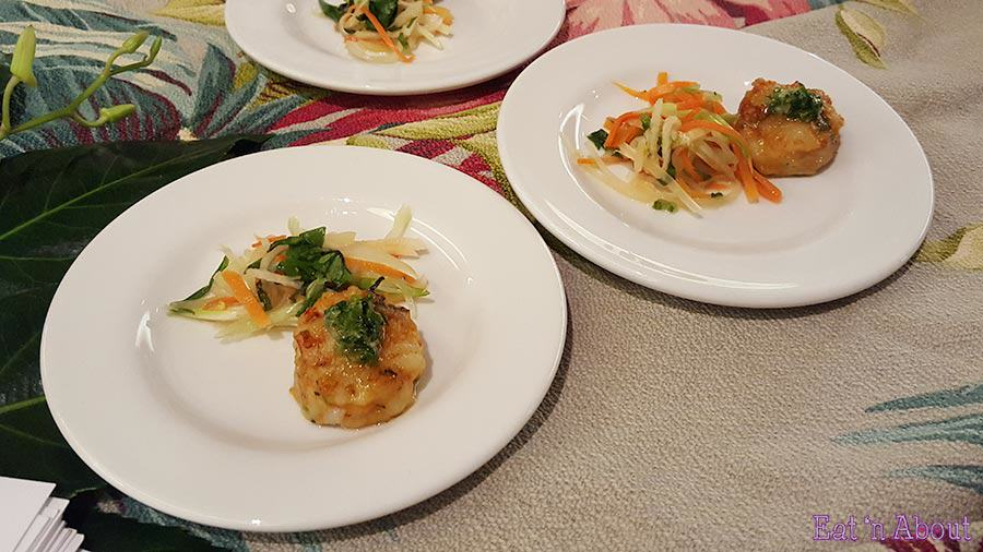 EAT! Harvest - Nicole Gourmet Thai Prawn Cake