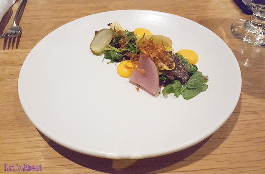 """Forage - """"Vietnamese Style"""" Bison Shank Salad"""