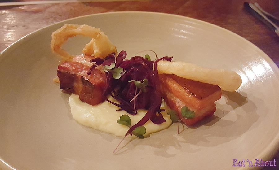 Wildebeest - Smoked Pork Belly & Polenta