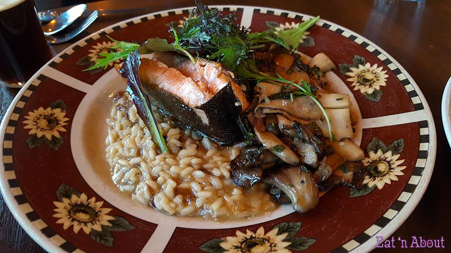 Wolf in the Fog - Roasted Arctic Char
