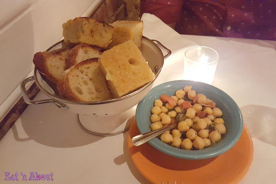 La Villetta New York - bread basket