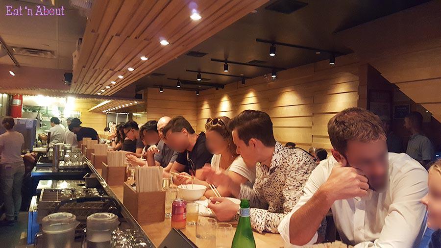 Momofuku Noodle Bar - inside