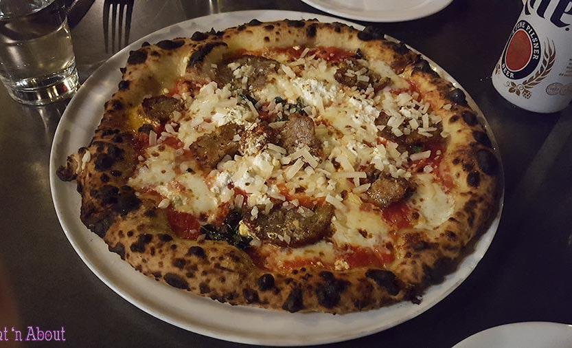 Brunetti Pizza - Meatball Pizza