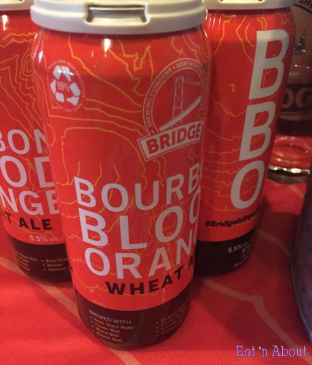 "Bridge Brewing Company ""Bourbon Blood Orange Wheat Ale"""