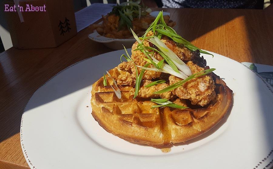 Stanley Park Restaurant & Brewpub - Fried Chicken and Waffles
