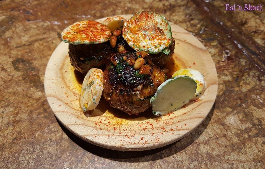 Como Taperia - Moorish Lamb Meatballs