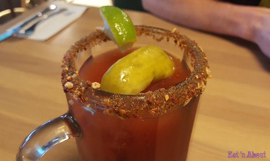 Earl's Brunch Happy Hour - Caesar rimmer