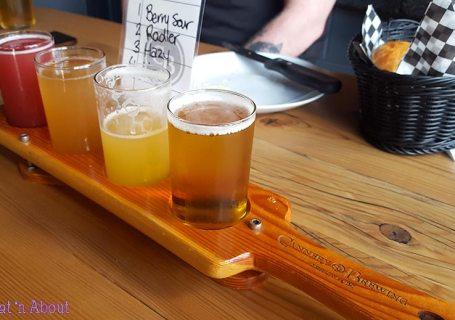 Cannery Brewing Beer Flight
