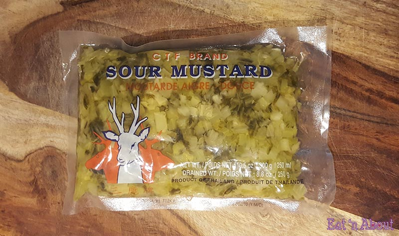 Chinese Sour mustard green