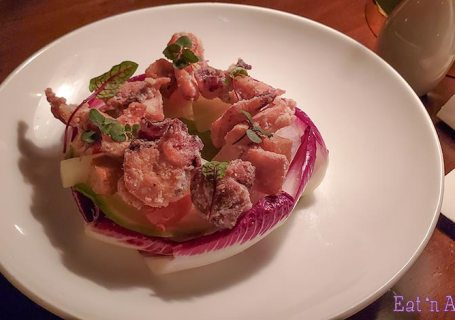 Kissa Tanto Vancouver - Octopus Salad