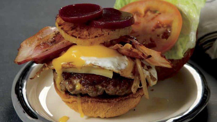 Image result for Aussie Burger