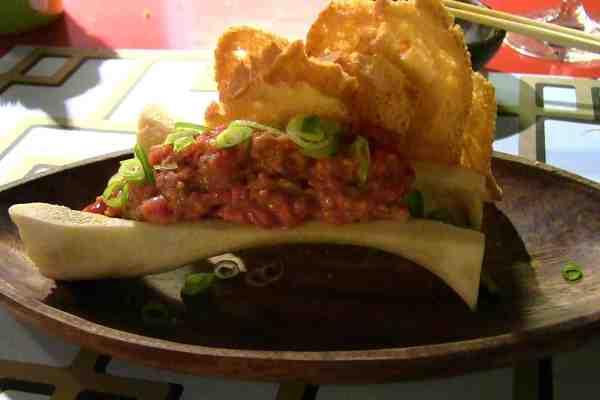 steak tartare casa marcelo santiago compostela