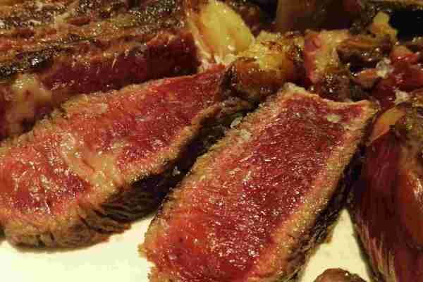 galician blond steak