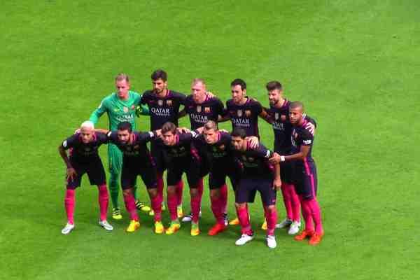 fc barcelona spanish la liga match