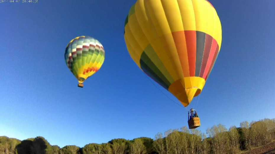 hot air balloon ribera del duero