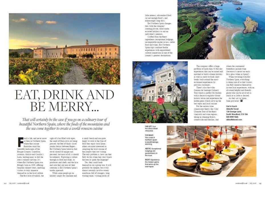 West Essex Life Magazine Article