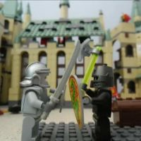 Lego Knights stop motion