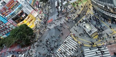 。東京 澀谷。MAGNET by SHIBUYA109展望台:全球最忙碌的澀谷十字路口,東京甩尾經典場景。