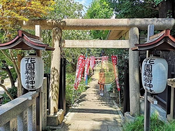 。東京 上野。五條天神社 & 花園稻荷神社:上野恩賜公園裡的迷你千鳥居、稻荷神。
