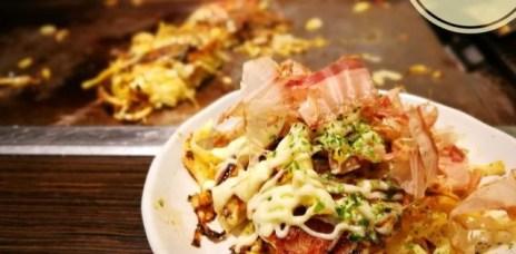 。大阪 心齋橋。お好み(Omoni) オモニ 大阪燒:大阪推薦美食,讓人難忘的滋味。