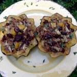 A Worthy Fall Recipe: Stuffed Acorn Squash