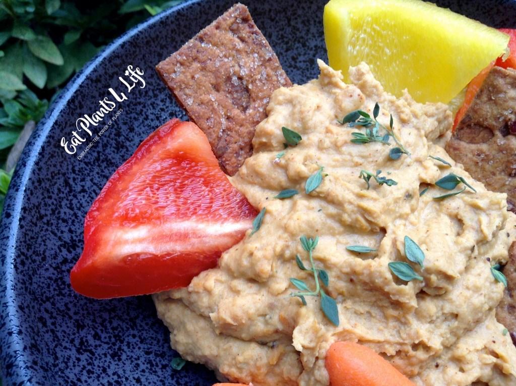 Sweet Potato Hummus (Yummus)