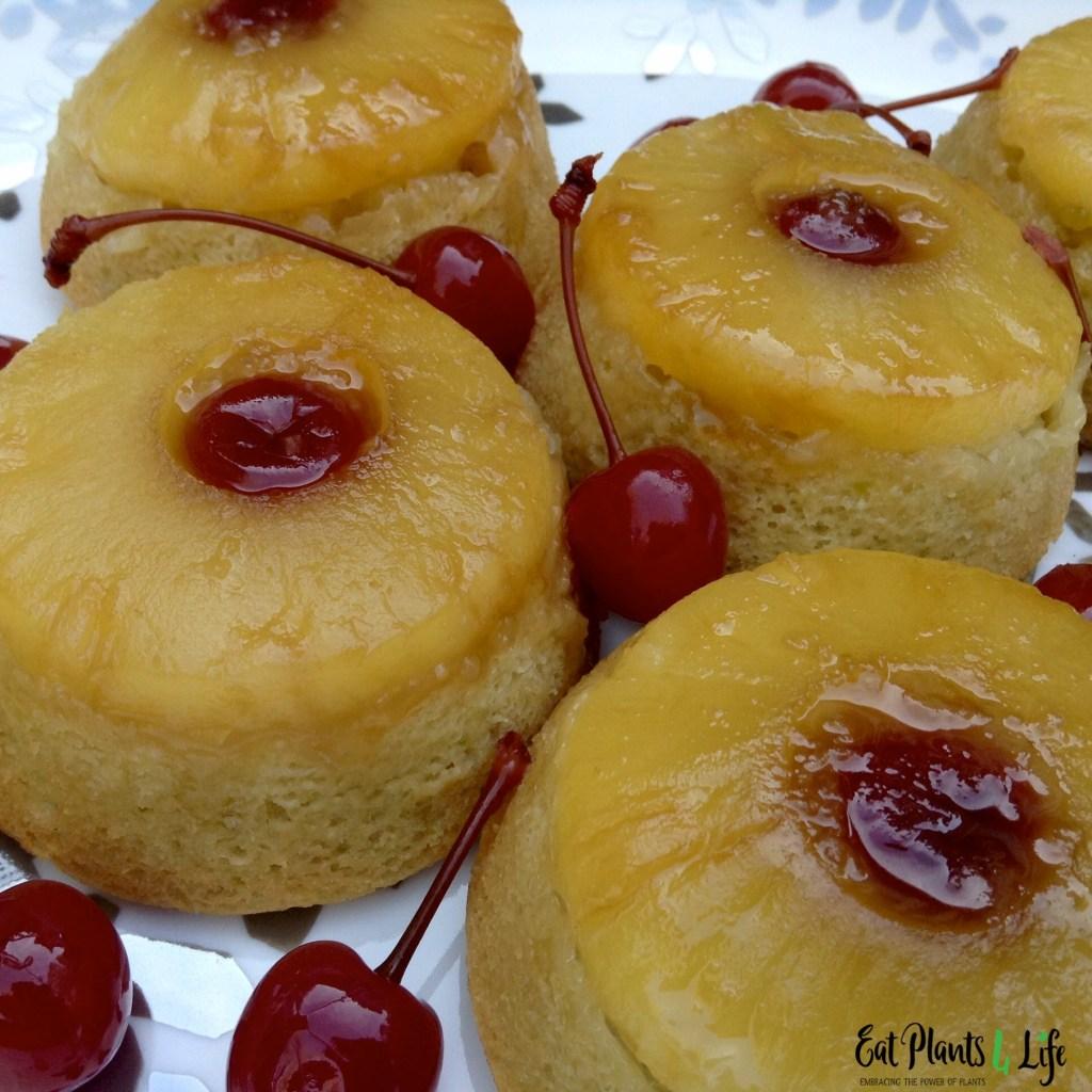 Pineapple Upside-Down Mini Cakes 3