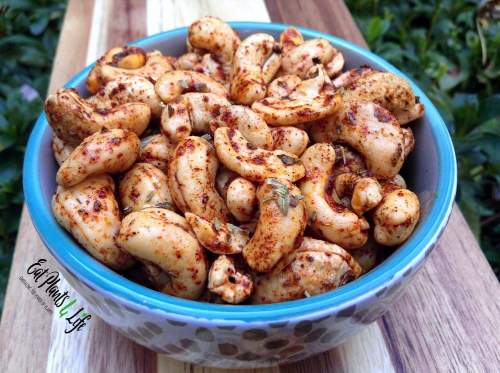 Spiced Cashews5