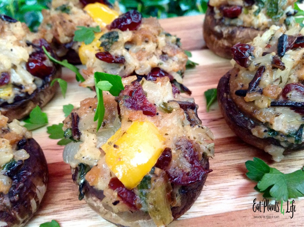 Oh, Snap! Mushroom Poppers & Boom Bangin' Cashew Queso