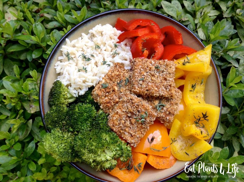 Crispy Baked Tofu  healthy recipe