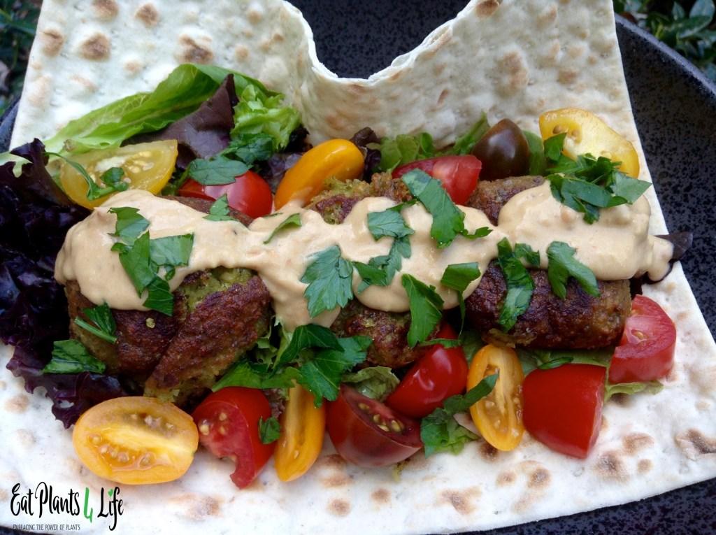Vegan Falafels & Avocado Aioli 3