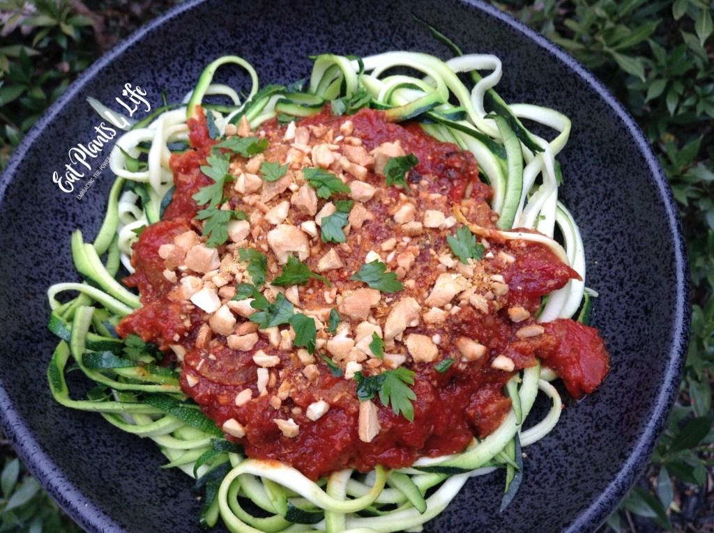 Zoodles   Zucchini Noodles   Eat Plants 4 Life 3