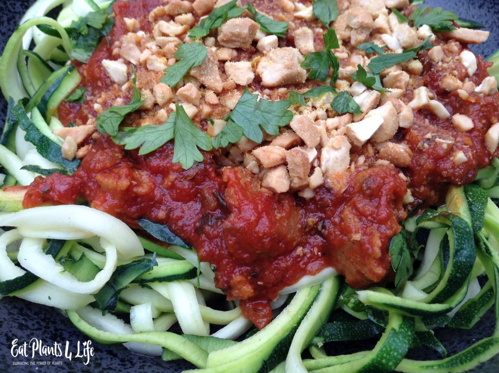 Zoodles   Zucchini Noodles   Eat Plants 4 Life 4