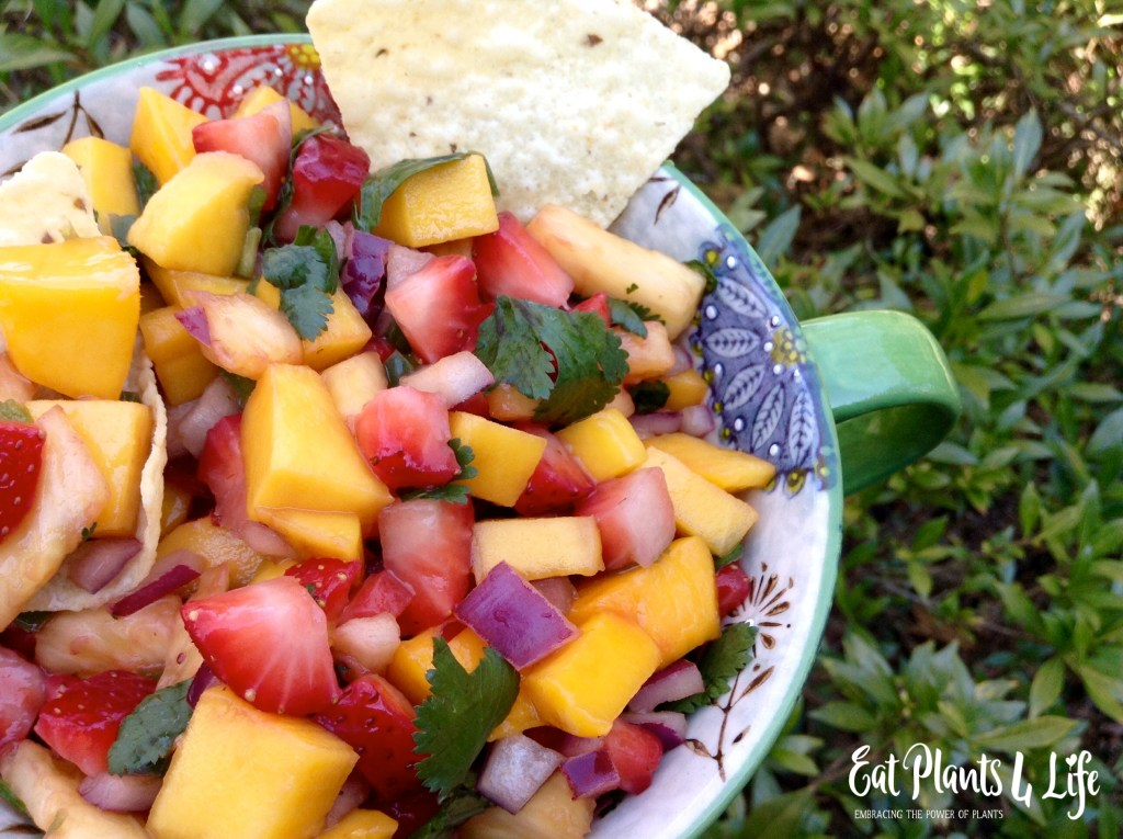 Tropical Salsa: The Sweeter Side of Salsa | Eat Plants 4 Life