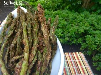 Lemon-Pepper Battered Asparagus Fries 3