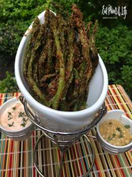 Awesomeness Has Arrived: Lemon-Pepper Battered Asparagus Fries