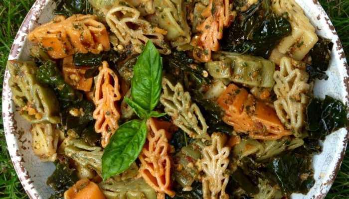 Under the Tuscan Sun-dried Tomato Pesto Pasta