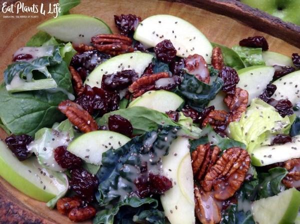apple candied pecan salad