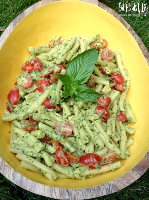 creamy avocado pesto 6