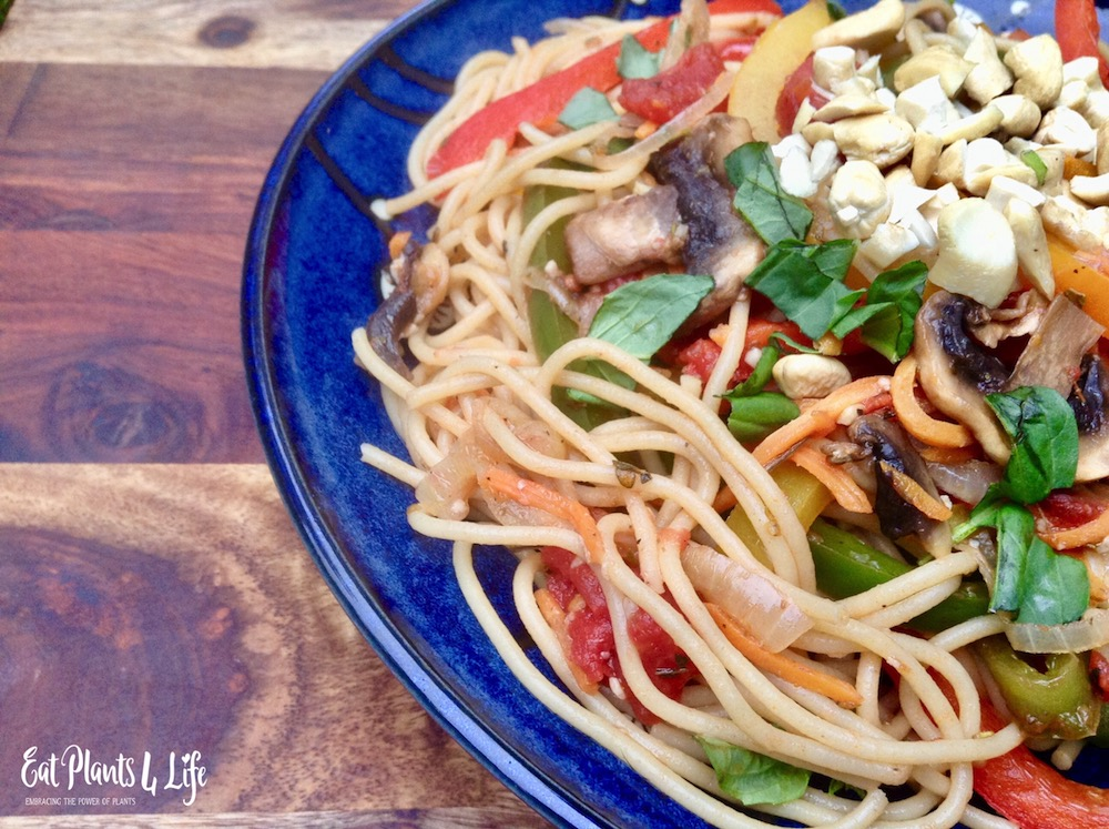 Earth Day Pasta Primavera Recipe