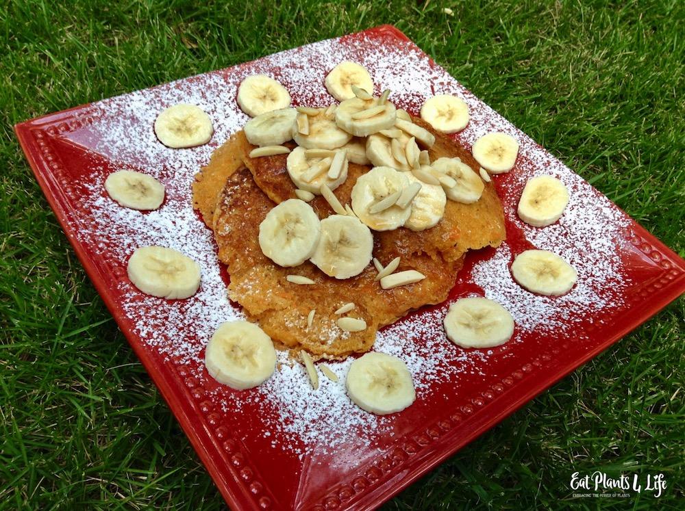 Sweet Potato Pancakes | Best Vegan Pancakes 6
