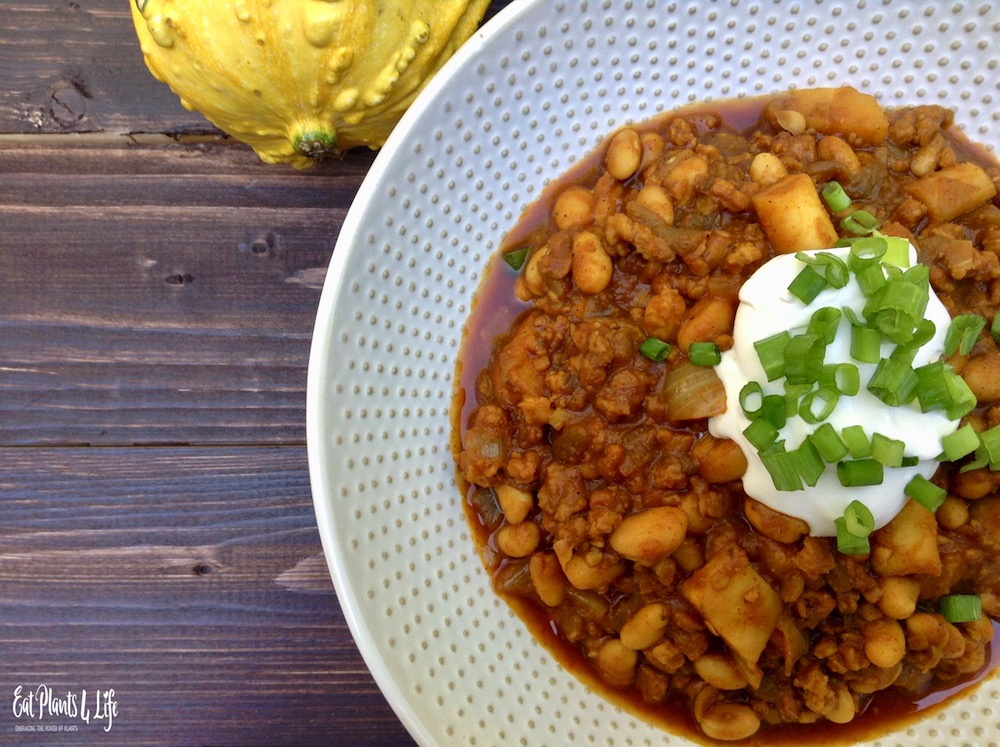 Vegan Pumpkin Chili 2