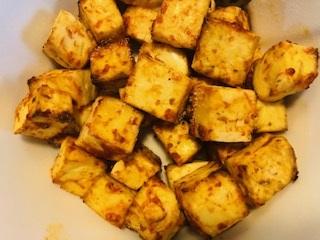 schezwan tofu