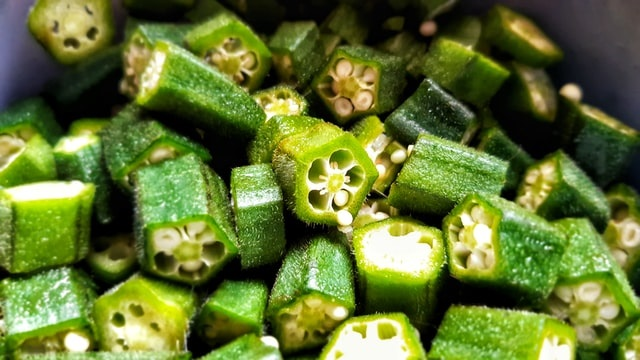 Okra Stir Fry with Indian Spices