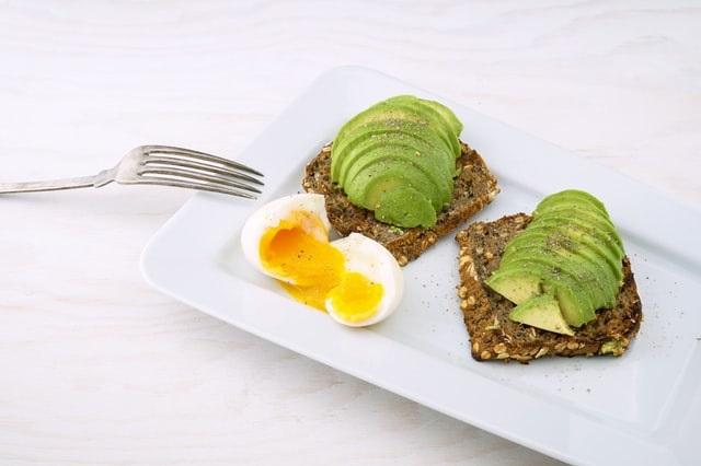 A Healthy Valentines Day Breakfast - Whole Grain Avocado Toast