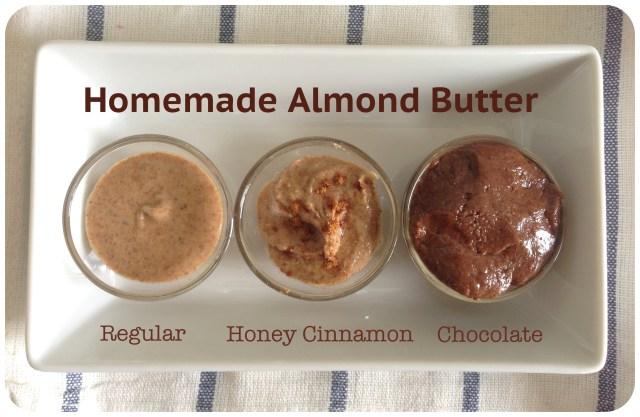 Homemade Almond Butter-24 Ways