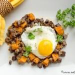sweet potato corned beef hash