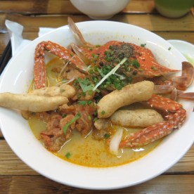 Crab coconut stew