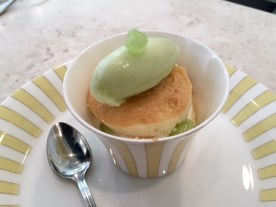 A melon parfait/cake from Chikalicious, my current favorite New York Dessert Bar!